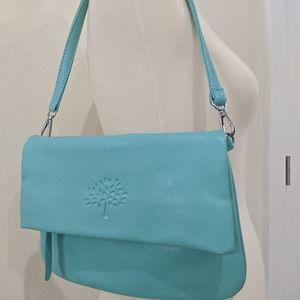 NWOT Light blue Mulberry over the shoulder purse